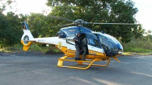 helicóptero incrível