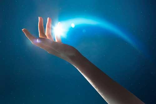 um toque de mágica