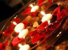 com velas