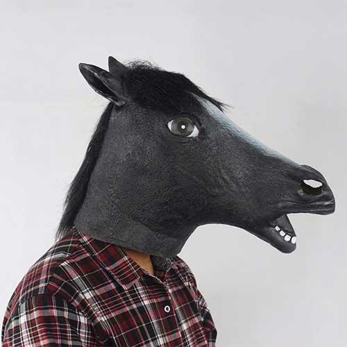 máscara engraçada